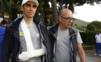 Contadora nezastaví ani vykĺbené rameno