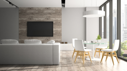 Moderné materiály do interiéru bytu.