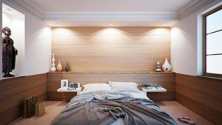 Jednoduchá spálňa ako cesta ku kvalitnému spánku a posilnenej imunite