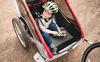 Cyklovozíky. Užite si jazdu na bicykli so svojím dieťaťom