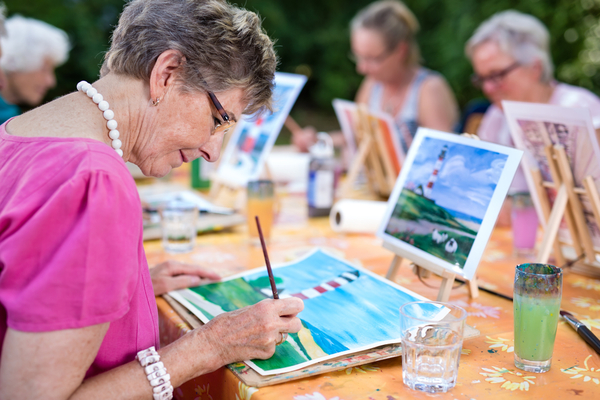 Umenie lieči dušu apoteší náš zrak