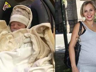 Monika Absolonová už není v porodnici: Z domova poslala dojemný vzkaz