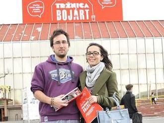 Bojárt v Bratislavě. Lidé v tržnici soutěží pod taktovkou Kateřiny Šedé