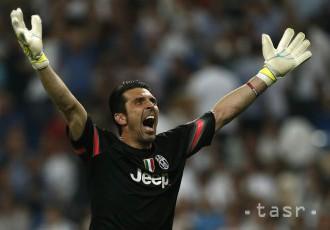 LIGA MAJSTROV: Nestarnúci Buffon podržal Juventus výbornými zákrokmi