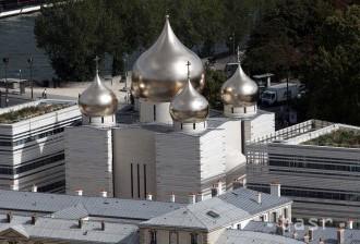 V čase napätia otvorilo Rusko nový pravoslávny chrám v Paríži