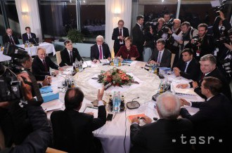 Lídri štyroch krajín rokujú o situácii na východe Ukrajiny