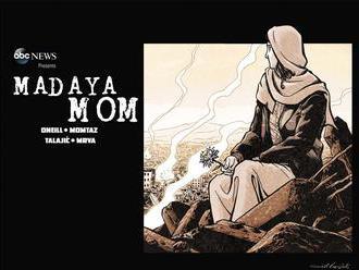 Naše telá si už odvykli od jedla, hovorí sýrska mama, z ktorej urobili komiksovú hrdinku