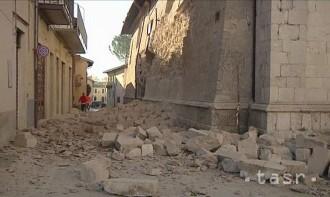 Stredné Taliansko zasiahlo ďalšie zemetrasenie