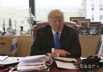 Trump sa počas úradovania v Bielom dome vzdá podnikania