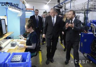 Prezidenta Kisku prekvapila úroveň technológií spoločnosť LPH