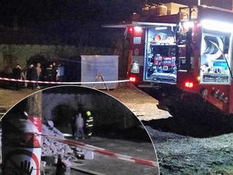 Po požáru na prostějovského nádraží našli hasiči mrtvolu: Jde patrně o bezdomovce