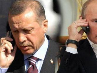 Erdogan veľmi rýchlo zmenil postoj po Putinovom telefonáte. Povedal, že jeho jediným cieľom v Sýrii