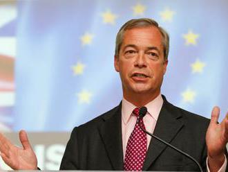 Francúzske voľby môžu ukončiť Európsku úniu, myslí si Farage