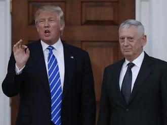 Trump si vybral za kandidáta na post ministra obrany Jamesa Mattisa