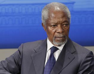 Kofi Annan prišel pomôcť s riešením situácie v Jakchainskom štáte