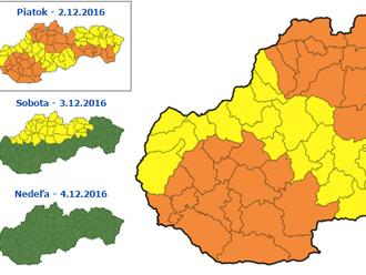 Slovensko zasiahol silný vietor, padajú stromy, meškajú vlaky