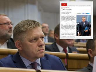 Fico pod paľbou kritiky zo zahraničia: Nemá kam utiecť, útočí na Hlávkovú a médiá!