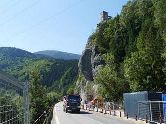 SKVELÁ SPRÁVA pre vodičov: Cesta popod Strečno bez obmedzení