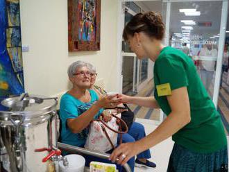 Dobrovoľníci v Prešove pomáhali v hospici aj na hrade