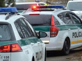 Polícia znovu strieľala na unikajúceho vodiča, zastavil ho až náraz do kopca zeminy