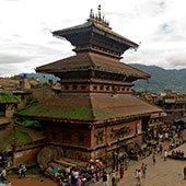 Cestování po Indii a Nepálu: Bhaktapur