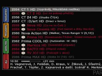 Nahrávání a dekódování více programů přes CA modul na 4K přijímačích VU