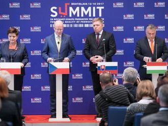 Čaká nás veľa práce, zhodli sa lídri V4. Bruselu navrhli zmenu