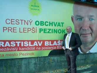 Rastislav Blaško uvažuje o stiahnutí kandidatúry na bratislavského župana