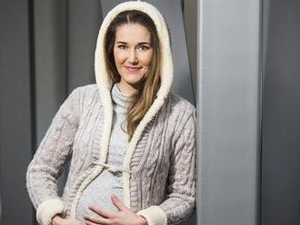 Královna českého lyžování Šárka Strachová je těhotná. Užívám si to, říká