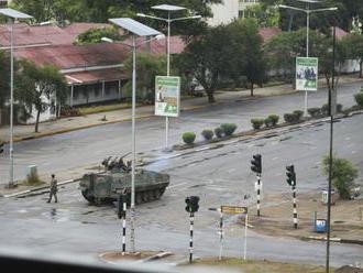Vojaci v Zimbabwe obsadili sídlo štátnej televíznej stanice ZBC