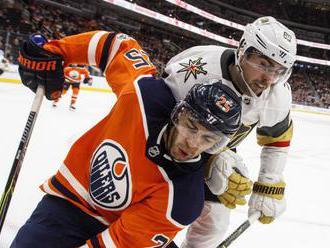 NHL: Edmonton nadelil nováčikovi osmičku, Dubnyk s treťou nulou