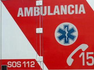 Auto zrazilo šesťročné dieťa, má poranenú hlavu a hrudník