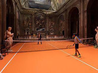 V Miláne majú tenisový kurt v kostole zo 16. storočia