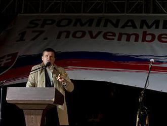 Novozvolení župani a lídri opozície pozývajú na spomienku Nežnej revolúcie