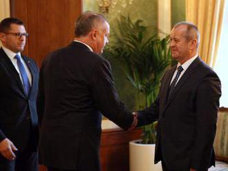 Prezident Kiska: Čím skôr budú armádne nákupy transparentnejšie, tým lepšie