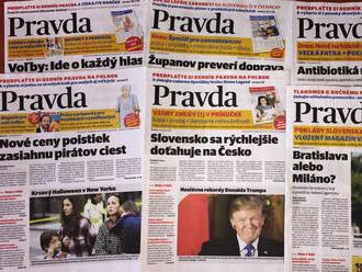 Pravda je najčítanejší mienkotvorný denník na Slovensku