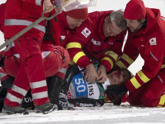 Mladý nemecký lyžiar Burkhart zomrel po páde na tréningu v Lake Louise