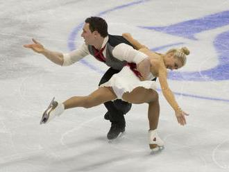 Savčenková s Massotom viedli súťaž športových dvojíc