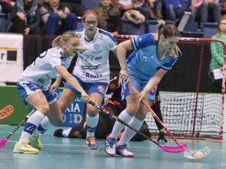 FLORBAL: Slovenky prehrali vo štvrťfinále MS. O medaile nezabojujú