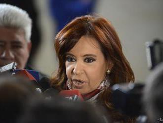 Sudca požiadal Senát, aby povolil zatknutie argentínskej exprezidentky