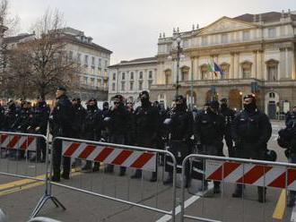 Vyšetrujú explóziu pred rímskym veliteľstvom carabinierov
