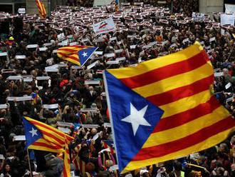 Okolo 20.000 Kataláncov prišlo demonštrovať do Bruselu za katalánsku vec