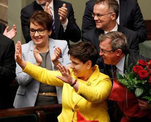 Poľská premiérka Beata Szydlová oznámila demisiu