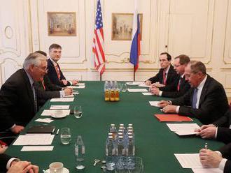 Lavrov na rokovaniach s Tillersonom hovoril o Donbase i o vzťahoch USA s Ruskom