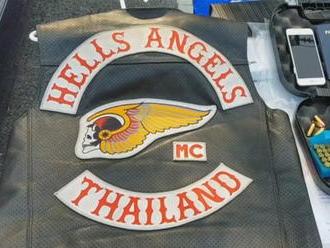 Thajská polícia zatkla štyroch členov klubu Hells Angels, obvinila ich z drogovej činnosti