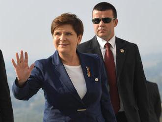 Poľská premiérka Szydlová oznámila demisiu