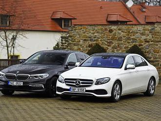 BMW 530d xDrive vs. Mercedes E 350 d     Je pětka opravdu nejlepší?