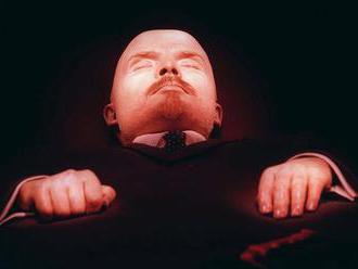 Poslanci predložili návrh zákona o odstránení Lenina z centra Moskvy