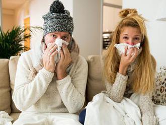 Počet chorých na akútne respiračné ochorenia stúpol