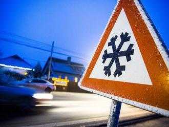 Slovensko čaká mrazivá noc, teploty môžu klesnúť na mínus 14 stupňov